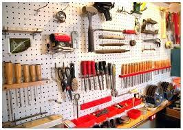 wall mounted tool organizer hanger