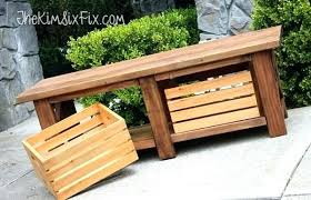 wooden crates ikea storage bench outdoors x leg bench wooden crates outdoor storage bench seat