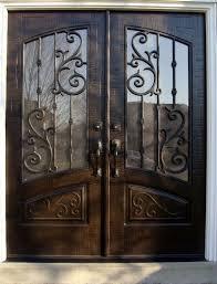 Front Doors front doors houston : Double Front Entry Doors Rec top orleans Panel Design Finished ...