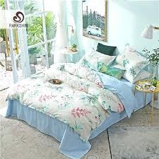 double duvet sets bedding set plants comforter duvet cover double bed sheets set bedspread linens twin