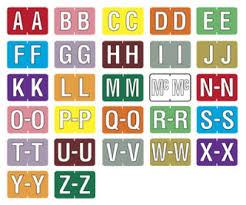 Alphabet Labels For Files 92407591761 Top Label Maker