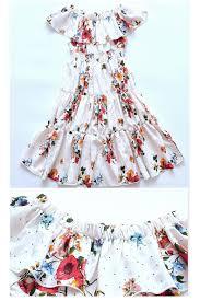 Little Girl Clothes Designer Us 13 85 35 Off Summer 2018 Little Girls Sleeveless Dress Baby Clothing Printed Kids Princess Dresses For Teenagers Girls Designer Kids Clothes In