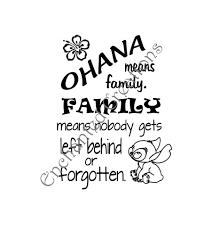 Ohana Means Family Quote Simple 48 Collection Of Ohana Means Family Drawing High Quality Free