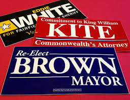 political campaign bumper stickers campaign bumper stickers are a election supplies staple runandwin