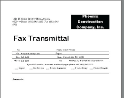 Fax Transmittal Template Fax Cover Sheet Template Pages Word For Voipersracing Co