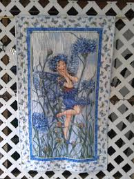 Custom Handmade Cotton Quilts For Sale in New Hampshire | The ... & Blue Flower Fairy Quilt - Handmade Quilts for Sale Adamdwight.com