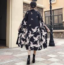 2019 женские длинные рукава кардиган хаори кимоно в традиционном стиле японский