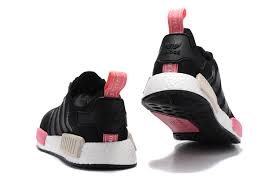 adidas shoes nmd womens black. cheap women\u0027s adidas originals nmd high top shoes black/peach/pink s75234 clearance store nmd womens black