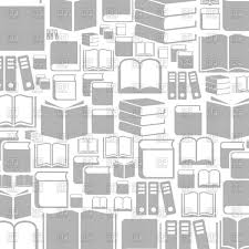 Background With Books Stock Vector Image