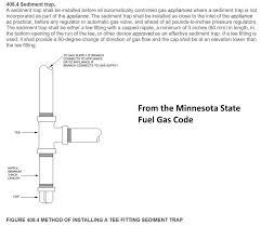 sediment trap requirement