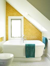 2018 Moderne Gemütliche Kleine Dachgeschoss Badezimmer Interieur