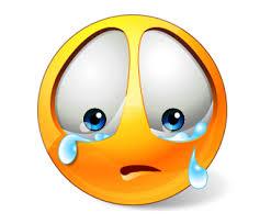 Resultado de imagen de emoticono triste