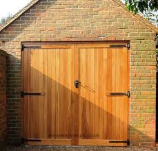 framed ledged and braced garage doors