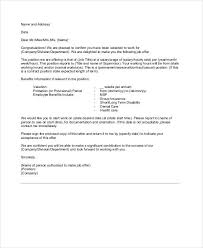 Acceptance Letter For Job Unique 48 Appointment Letter Examples Samples PDF DOC