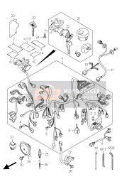 suzuki c vl intruder spare parts msp wiring harness vl800 e2