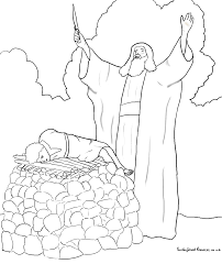 Sunday School Abraham Bible Coloring Pages