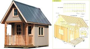 playhouse plans with loft free wood cabin plans free step by step shed plans woodwork city playhouse plans