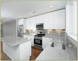 grey granite countertops. Light Grey Granite Countertops Kitchen Cabinets With