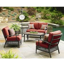 patio furniture cushions deep seating. sierra conversation replacement cushion set patio furniture cushions deep seating s