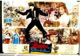 Image result for Zorro e i tre moschettieri / Zorro and the Three Musketeers