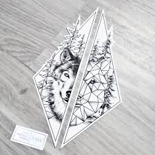 Wolf Nature Tree Matching Tattoo For Forearms Design For Jasmine