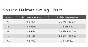 Size Charts Saferacer