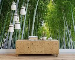 Beibehang De Muurschildering De Muur Groene Bamboe Behang Scenic