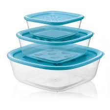 "<b>Набор из 3-х контейнеров</b> ""Forme Casa"", синий   Купить с ..."