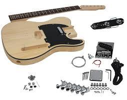 diy acoustic guitar kit fresh solo tele style diy guitar kit basswood