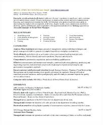 Resume Template Retail Unique Resume Template For Retail Saleonline