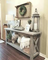 console table under rustic half moon hall tables m phoenixsquared