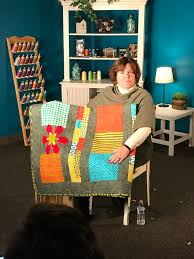 Lana Russel | Handi Quilter Quilt Your Desire Inspiration Squad ... & Here I am with my quilt during my video shoot. Adamdwight.com