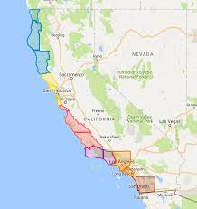 California Regions League Of California Cities California Coastal Comission