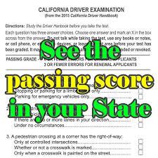 nc dmv permit test cheat sheet united states permit and license passing scores driversprep com