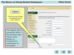 The Basics Of Hiring Student Employees There Are Other Forms Located ...