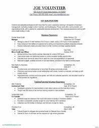 Teacher Resume Objectives Resume Objective Sample For Fresh Graduate Valid Resume Template For