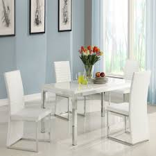 homelegance clarice piece chrome dining table set modern white large sets oak and chairs black kitchen oval room seater round wood extendable small dinner