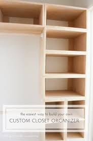 interesting build your own built in wardrobe best of best 25 diy closet system build a closet system pic