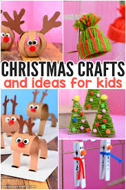 Christmas Program Theme Festive Christmas Crafts For Kids Tons Of Art And Crafting