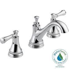 chrome bathroom faucet. Delta Silverton 8 In Widespread 2 Handle Bathroom Faucet Regarding Size 1000 X Chrome