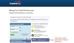 Many credit providers will take a request for a name change online or by phone. Capital One Credit Card Online Login Cc Bank