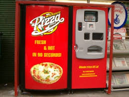 Vending Machine Pizza Impressive Pizza Vending Machine Installed In The Cut [48 November 48]