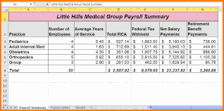 9 Payroll System In Excel Free Download Technician Salary