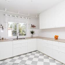 white kitchen. If You Have A Large Kitchen Should Avoid Making It All-white As White