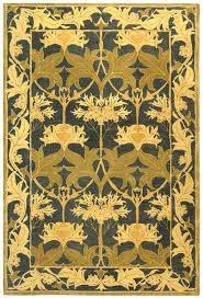 art nouveau area rugs carpet deco costco