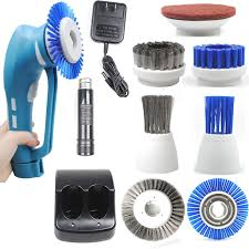 Amazon.com: CUH Cordless Power Scrubber with Rechargeable Battery ...