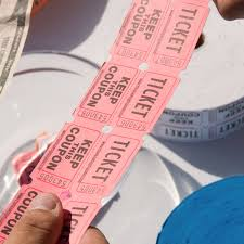 2 part raffle tickets carnival king pink 2 part raffle tickets 2000 roll