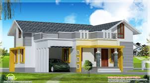 Modern 3 Bedroom House Design Kerala Home Design And Floor Plans 1400 Sqfeet 3 Bedroom Single