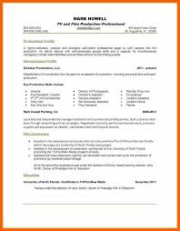 1 Page Resume Template Resume Template