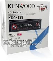 kenwood kdc 138 car stereo kdc138 sonic electronix zoom